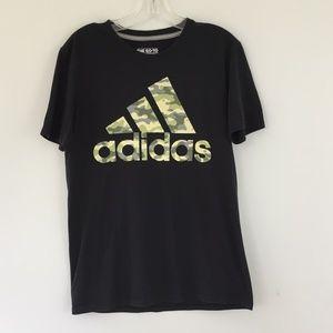 Adidas Camo TShirt Mens Size Small Graphic